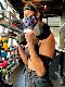 【定番モデル】【スタンスフェイスマスク】【リバーシブル/2WAY】STANCE 21 スタンス ファッション ドレイク マスク DRAKE MASK AH01C20DRA-CHR メンズアパレル チャコール ボーダー柄 フェイスマスク