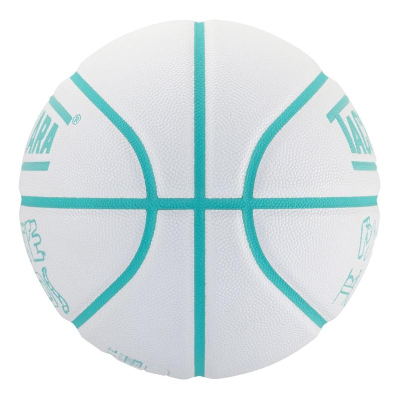 【6号球】【女性ボーラー】【バスケットボール】TACHIKARA BASKETBALL タチカラ ボール  ホワイトハンズ WHITE HANDS SB6-208 メンズ レディース キッズ ホワイト/ライトアクア ホワイト系