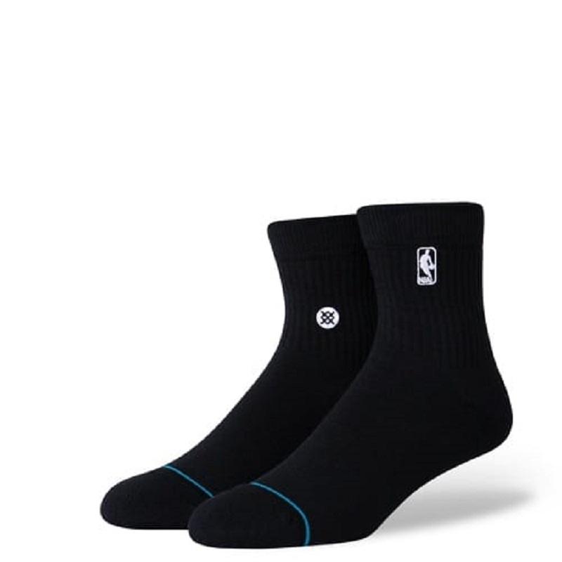 【21FAモデル】【スタンスソックス】【単色ソックス】【NBA公式】STANCE 21FA スタンス ファッション ロゴマンST LOGOMAN ST QTR A356A20LOG-BLK メンズアパレル ブラック ライフスタイル