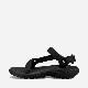 【ロングセラー】【定番モデル】【スポーツサンダル】TEVA  テバ サンダル レディース ハリケーン XLT 2  W HURRICANE XLT2 BLK 1019235-BLK レディースサンダル 再生ポリエステル使用 オールブラック