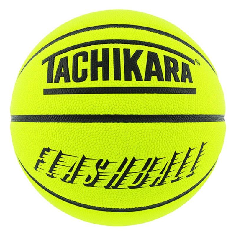 TACHIKARA BASKETBALL FLASHBALL NEON YELLOW/BLACK SB7-219  タチカラ  7号 フラッシュボール バスケットボール  ネオンイエロー ブラック