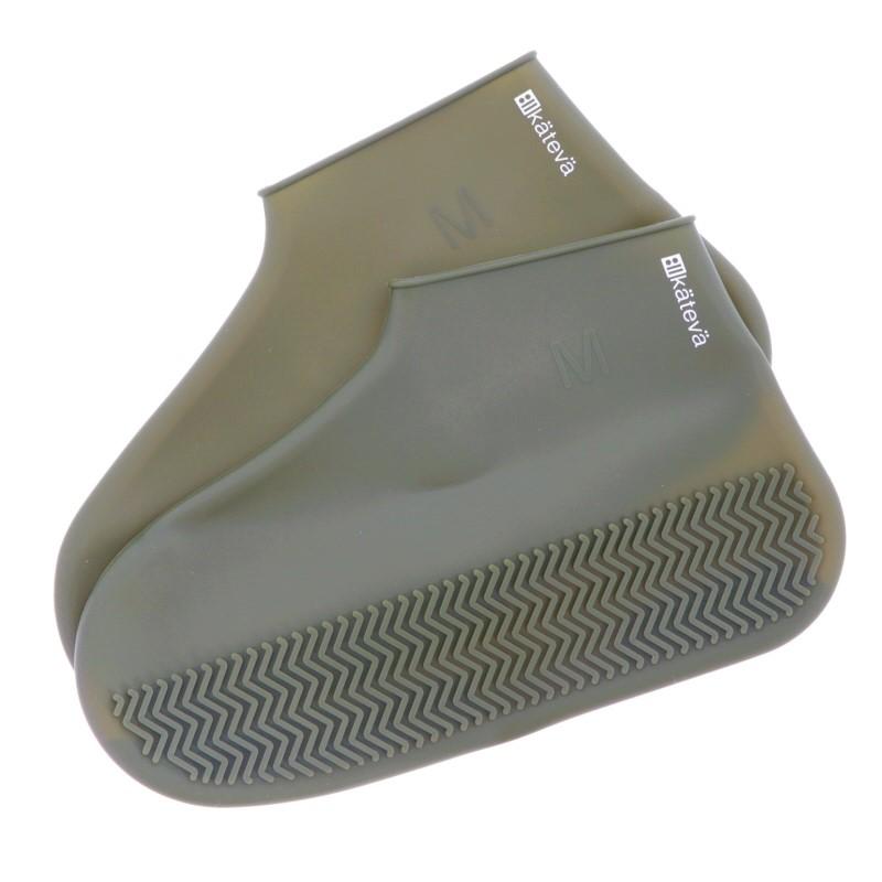 Kateva シューズカバー グリーン KTV255GR カテバ waterproof 防水シリコンカバー