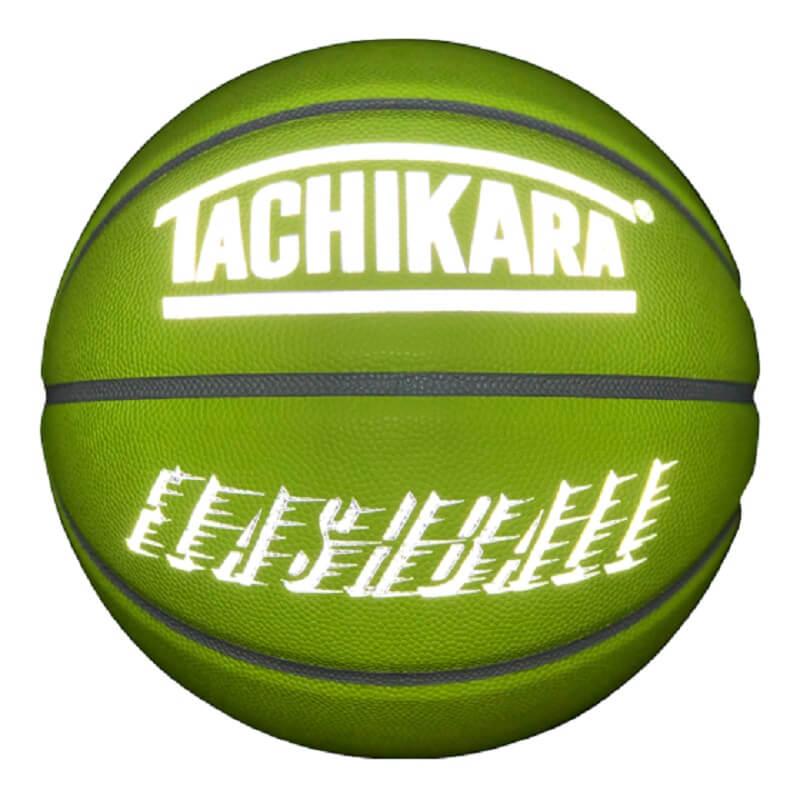 【7号球】【バスケットボール】【アウトドア用】TACHIKARA BASKETBALL タチカラ ボール フラッシュボール FLASHBALL -REFLECTIVE SB7-236 メンズバスケットボール ネオンイエロー/リフレクティブ/グレー イエロー系