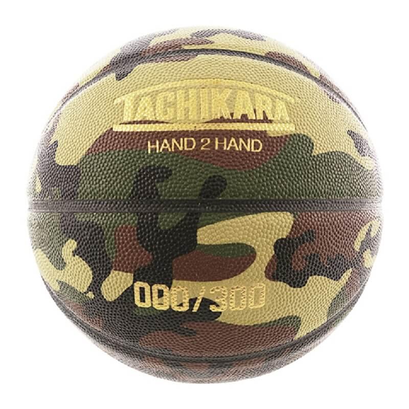 TACHIKARA SU20  タチカラ オリジナルレザー バスケットボール 7号球サイズ ウッドランドカモフラージュ  GAMEBALL lb7-h2ha