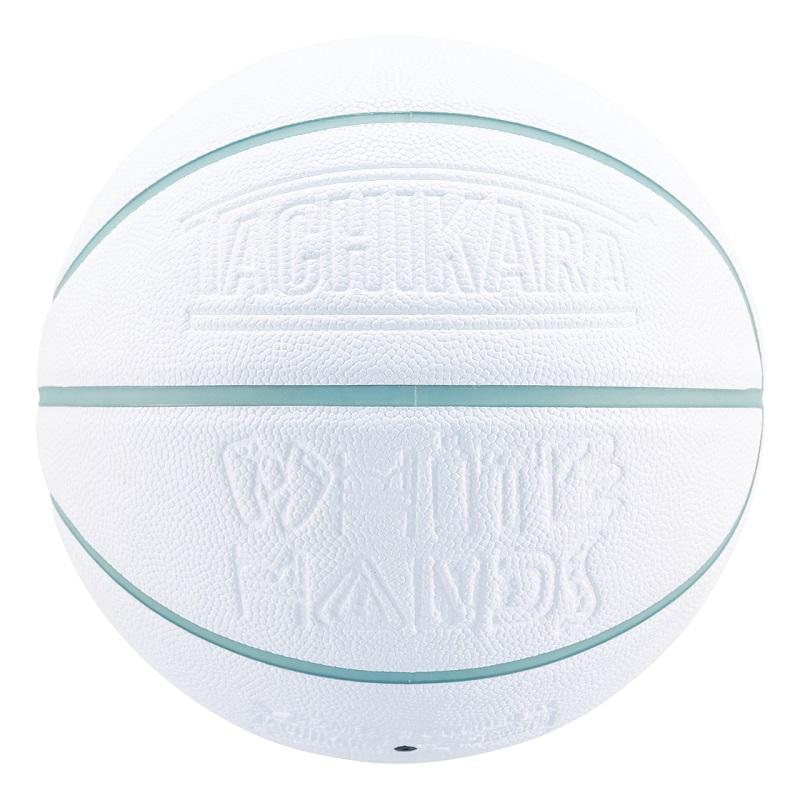 TACHIKARA SU21 BASKETBALL  WHITE HANDS-Ice Blue-WHITE SB7-263  White / Ice Blueタチカラ バスケットボール 7号 ホワイトハンズ カラ バスケットボール 7号 ホワイトハンズ  ホワイト