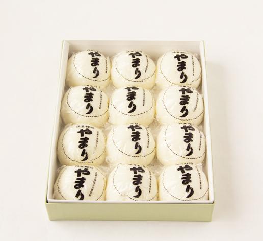 やまり饅頭(12個入り)