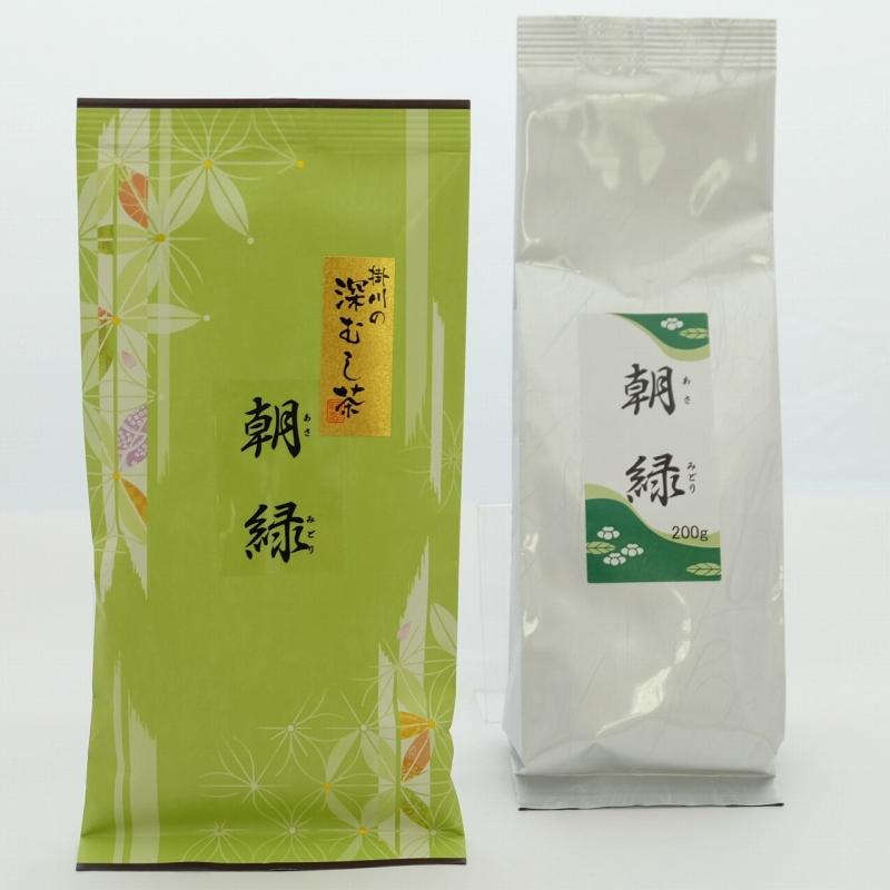 深蒸し茶 朝緑(あさみどり)