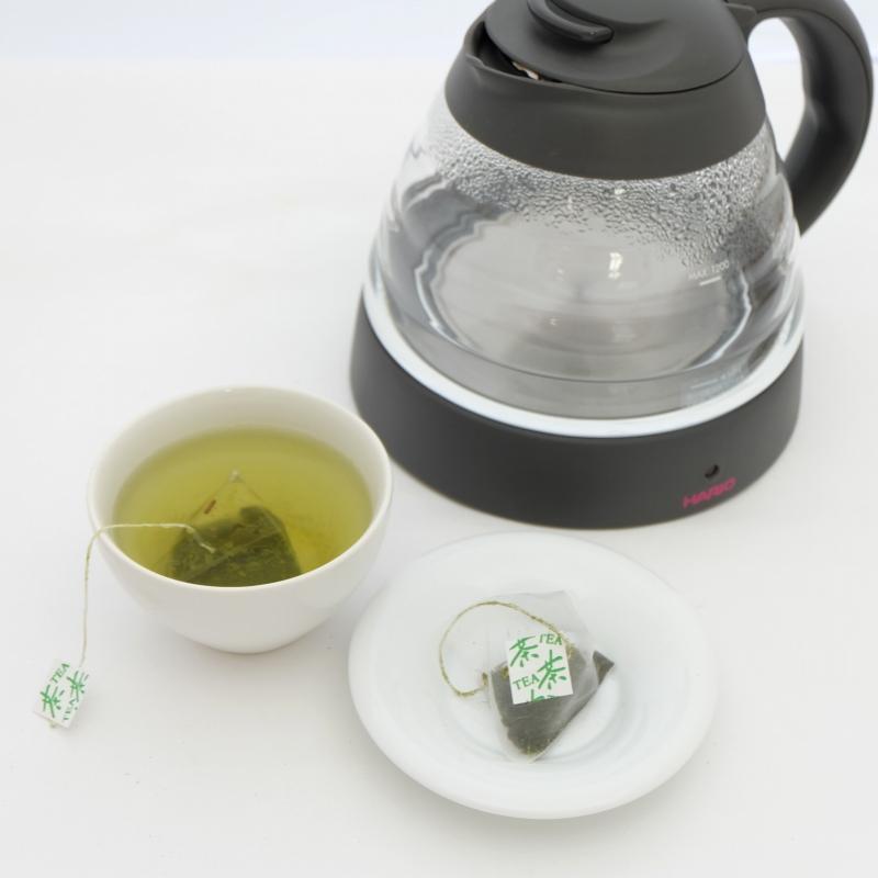 深蒸し煎茶テトラティーバッグ