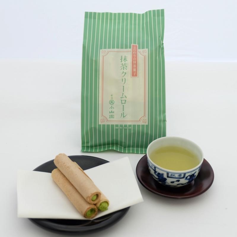 抹茶クリームロール