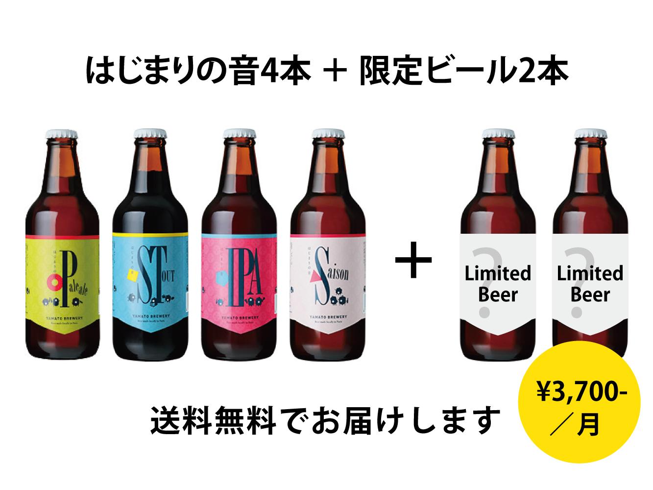 【定期購入】●クラフトビール定期便●3ヶ月プラン