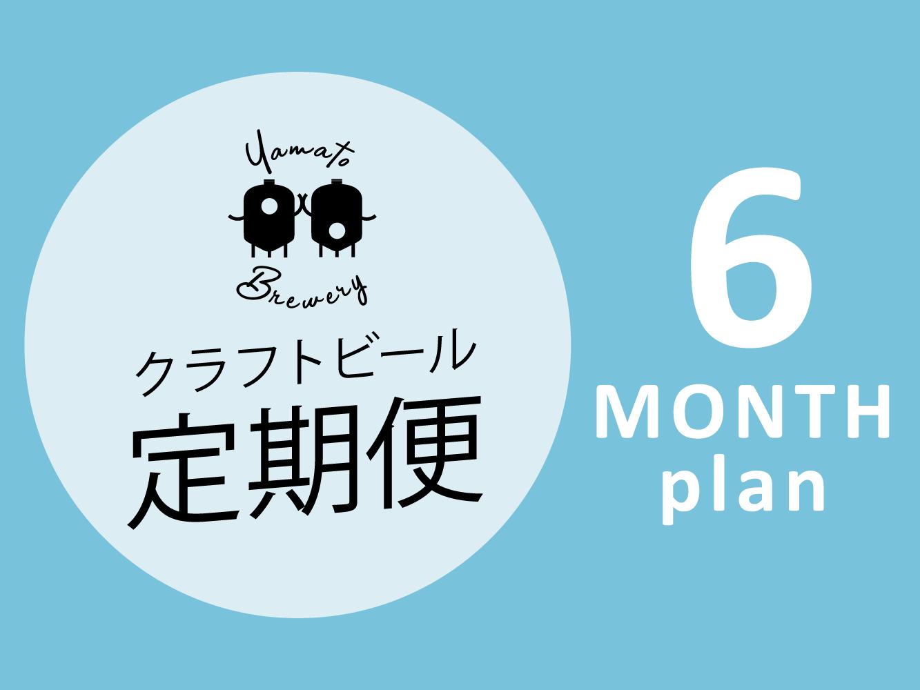 【定期購入】●クラフトビール定期便●6ヶ月プラン