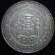 【外国銭】 ジャマイカ 独立10年 10ドル大型銀貨 1972年 (未使用)