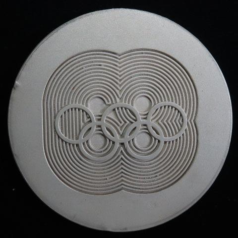 【銀メダル】 メキシコオリンピック記念銀メダル 1968年 (未使用)