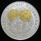 【銀メダル】 FIFAワールドカップ記念貨幣発行記念純銀メダル 2002年 造幣局製 (未使用)