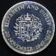 【外国銭】 イギリス エリザベス女王銀婚式記念 1クラウンプルーフ銀貨 1972年 (未使用)