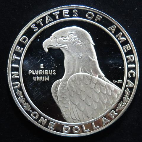 【外国銭】 アメリカ ロサンゼルスオリンピック 1ドルプルーフ銀貨 1983年 (未使用)