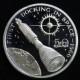 【外国銭】 マーシャル諸島 宇宙開発シリーズ 50ドルプルーフ銀貨 1989年 (未使用)
