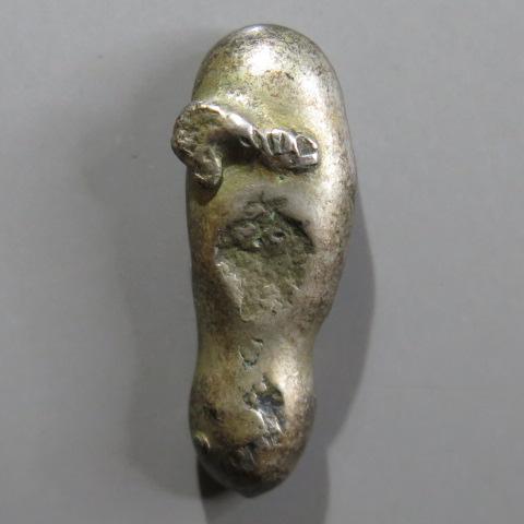【古金銀】 慶長変型豆板銀 常是2/3 9.1g (美品)