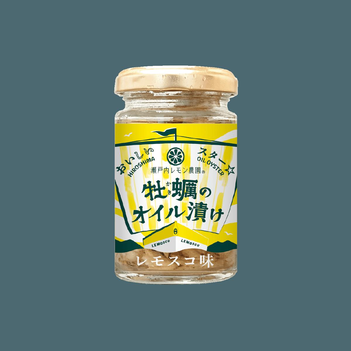 おいしいスター 牡蠣のオイル漬け レモスコ味