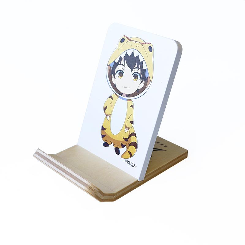 2.43 清陰高校男子バレー部  木製携帯スタンド   小田 伸一郎  おだ しんいちろう