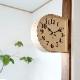 両面時計 D    掛け時計