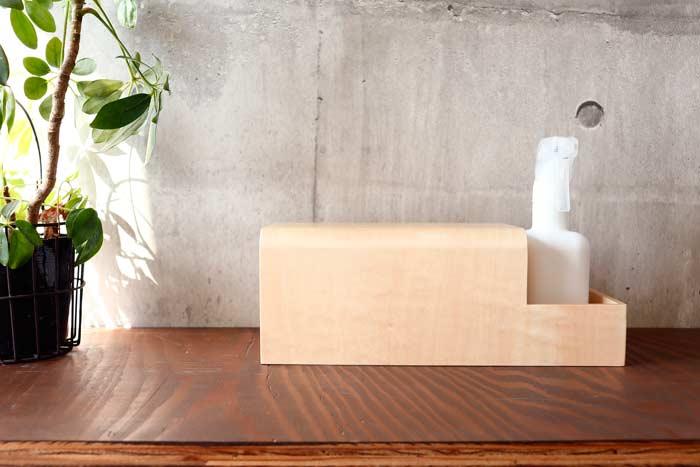 マスクエチケット収納BOX R(卓上タイプ)