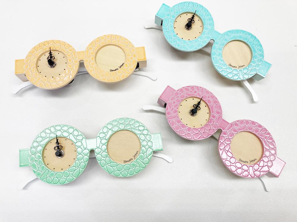 メガネの時計