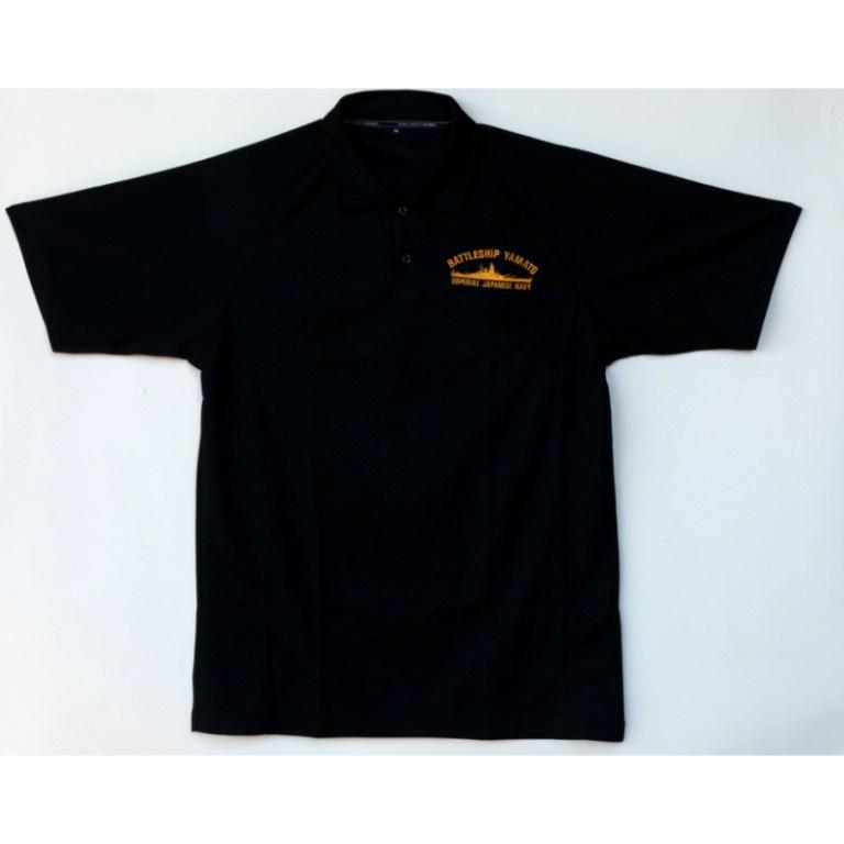 ポロシャツ/ブラック