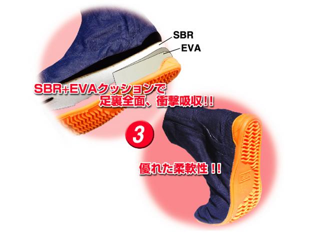 オリジナル祭り地下足袋/黒/サイズ 18.0〜22.5