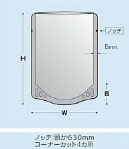 TA0400 銀レトルトアルミスタンド0.096×130×180+38