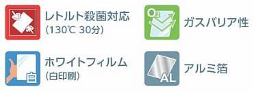 TW0450 白レトルトアルミスタンド0.096×130×200+38