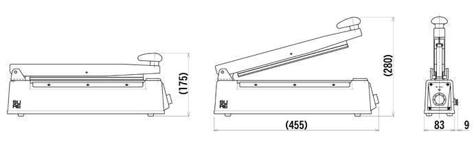 3034 シーラーNL-302J 白
