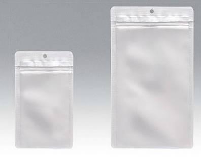 PJX1422HO チャック付表透明裏アルミ平 140×185 1,500枚