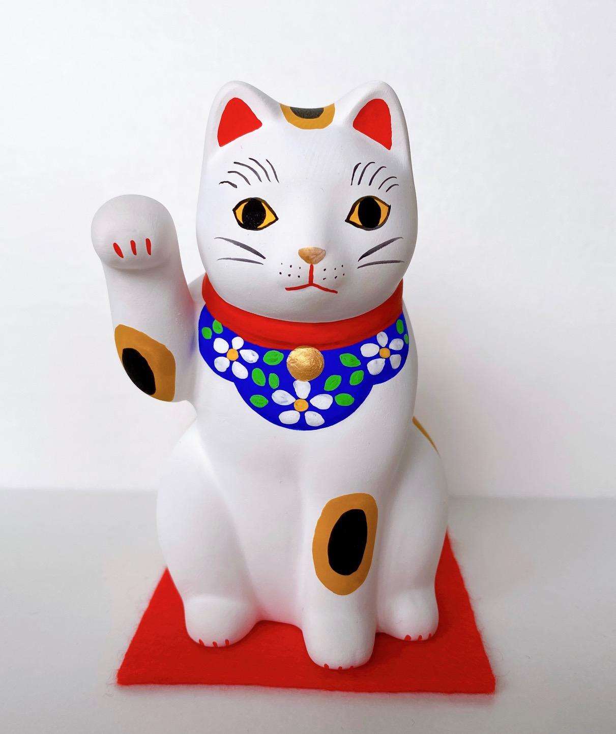 招き猫 開運 谷中猫 開店祝い 幸せを願う贈物 猫谷中堂
