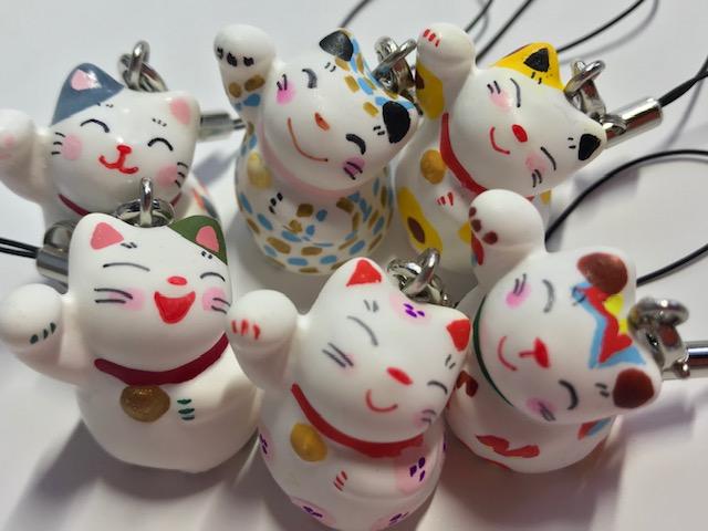 【誕生日プレゼント】【ストラップ招き猫】バースデーボックス【肉球マドレーヌ】【プレゼント】【猫谷中堂】