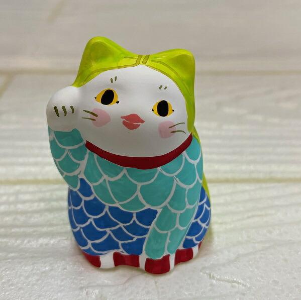疫病除け アマビエ招き猫 猫 谷中堂