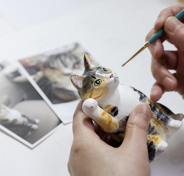 世界で一つだけ 『マイ招き猫』 (江戸猫 大)