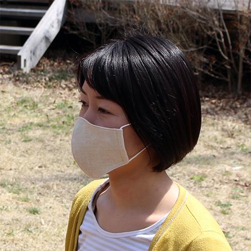ヘンプ100%マスク