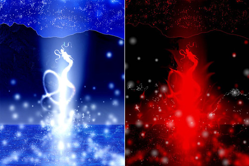 「龍の誕生」「龍の誕生RED」2枚セット