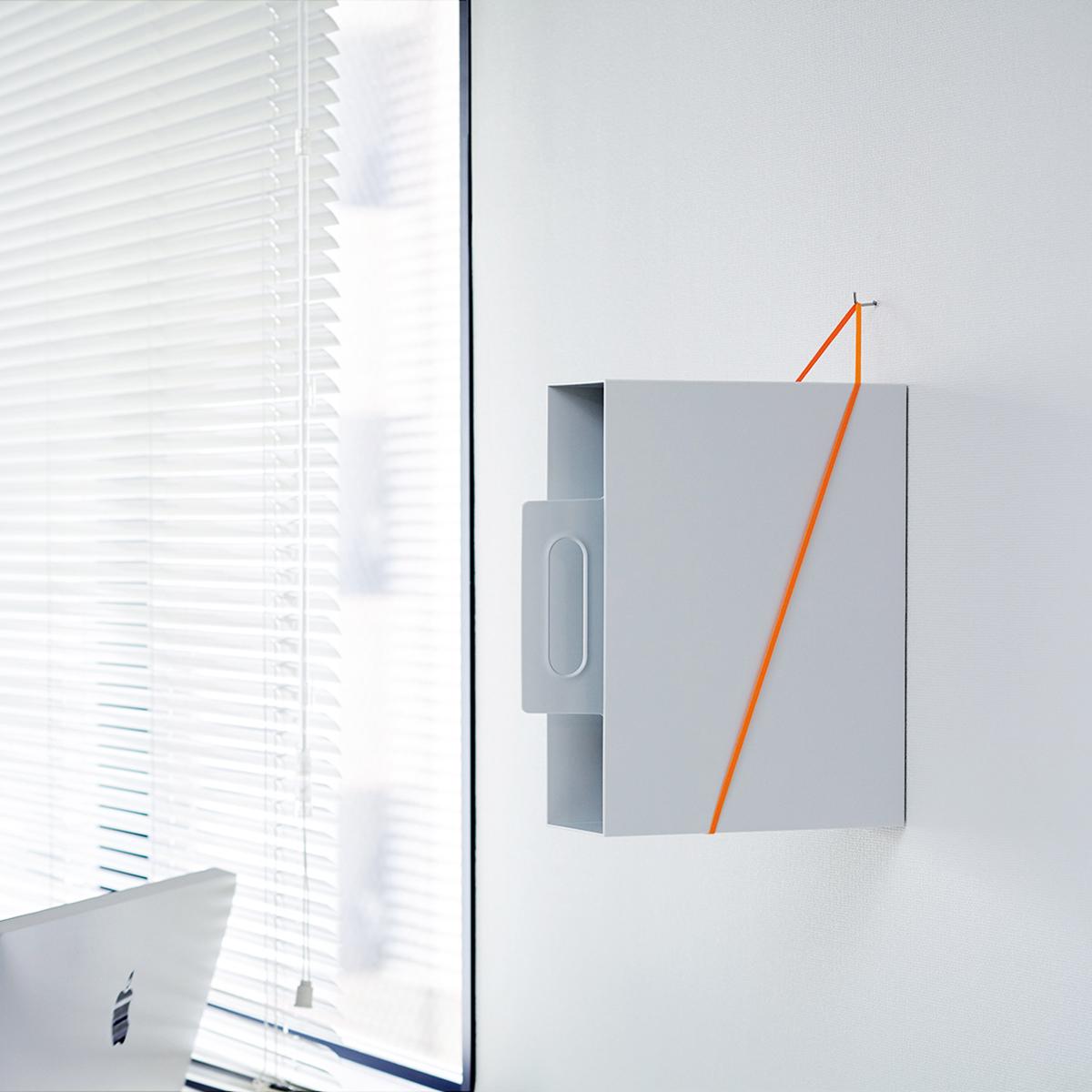 【 SOFT LOOP SHELF 2セット入 】ひもで壁にモノを置くループ状のシェルフ?
