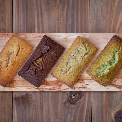 【果鈴のギフト】プレミアム・フィナンシェ&パウンドケーキ(屋久島のお茶と黒豆)のセット