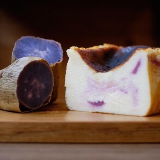 【やくしま果鈴ギフト】屋久島のバスクチーズケーキ2本セット(3種の味からお選び下さい)