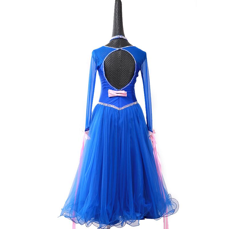 社交ダンスドレス・モダンドレス・ラテン衣装・競技用(ecsb0638)