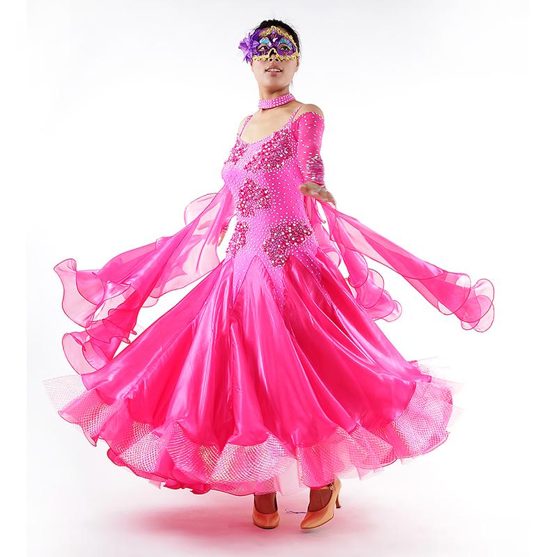【オーダーメイド対応 】社交ダンスドレス・モダンドレス・ラテン衣装・競技用(ecsb0554)