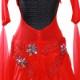 【オーダーメイド対応 】社交ダンスドレス・モダンドレス・ラテン衣装・競技用(ecsb0562)