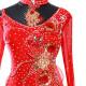 【オーダーメイド対応 】社交ダンスドレス・モダンドレス・ラテン衣装・競技用(ecsb0467)