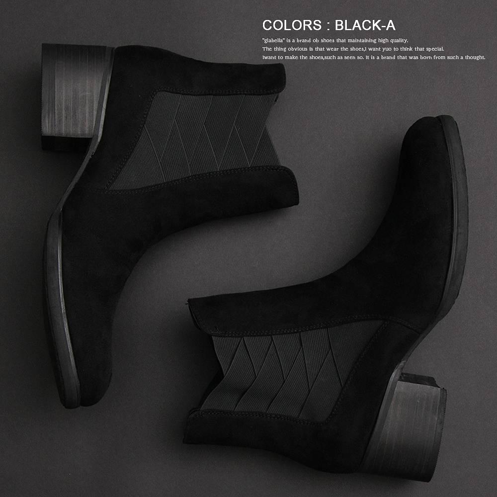 サイドゴアブーツ サイドゴア ヒールブーツ ヒール メンズブーツ メンズ  ブーツ ロック ROCK ヴィジュアル系 ビジュアル系 V系 ハイヒール 脚長 身長 モード MODE ラグジュアリー 高級感 きれいめ キレイめ 黒 合皮 革 レザー ブラック