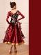 【オーダーメイド対応 】社交ダンスドレス・モダンドレス・ラテン衣装・競技用(ecsb0496)
