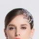 レディース ヘッドドレス ヘッドアクセサリー 髪飾り 上品 ゴージャス 豪華 イベント ワルツ タンゴ ルンバ ラテン衣装アクセサリー 社交ダンス用アクセサリー 大きめ 大きい ビジュー ヘッドピース