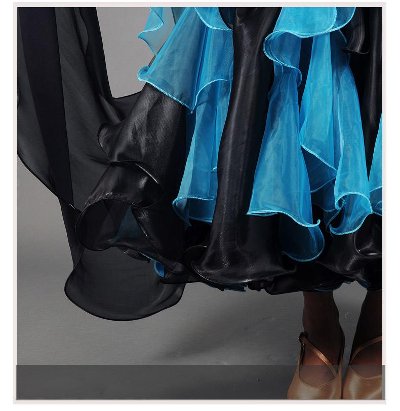 【オーダーメイド対応 】社交ダンスドレス・モダンドレス・ラテン衣装・競技用(ecsb0505)